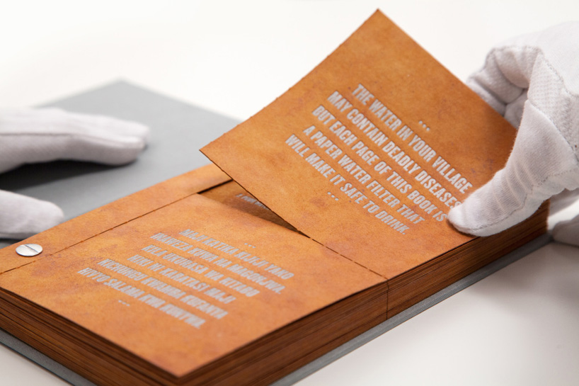 drinkable book front pages
