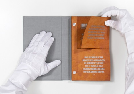 drinkable book page tear