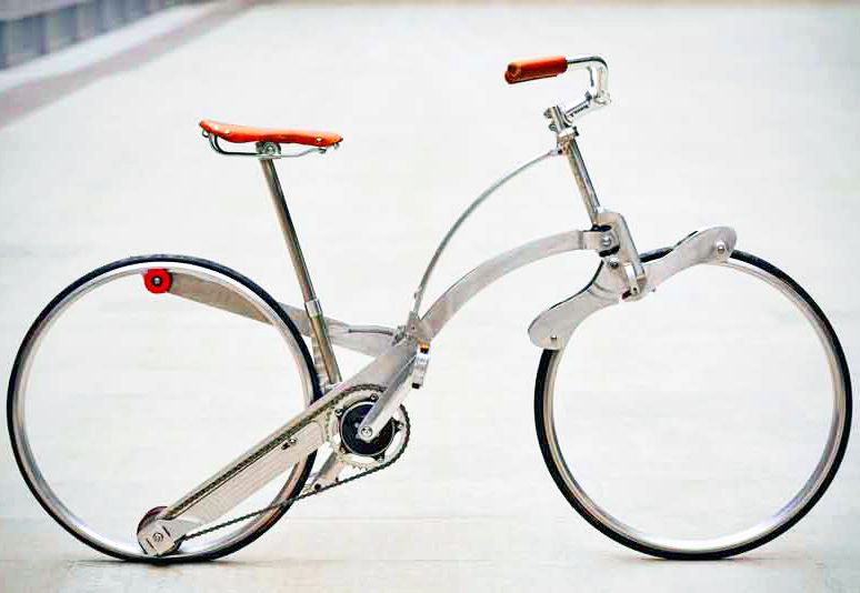 folding bicycle prototype design