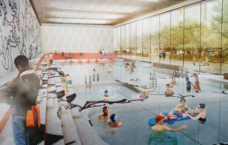 green park swimming pool