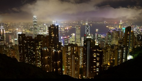 hong kong above