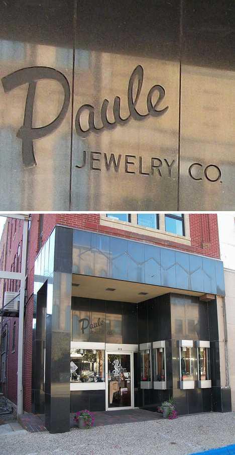 abandoned Paule jewelry store