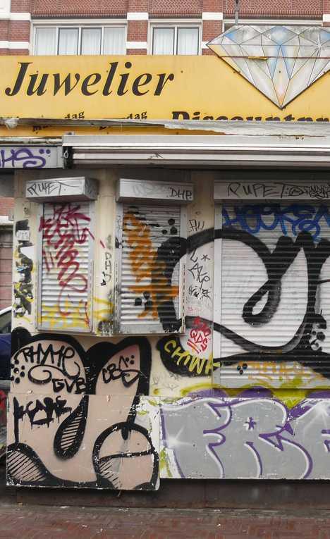 abandoned jewelry store Amsterdam