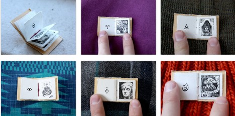 mini book wordless volume