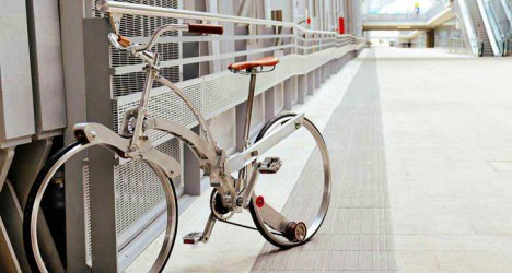 portable folding urban bike