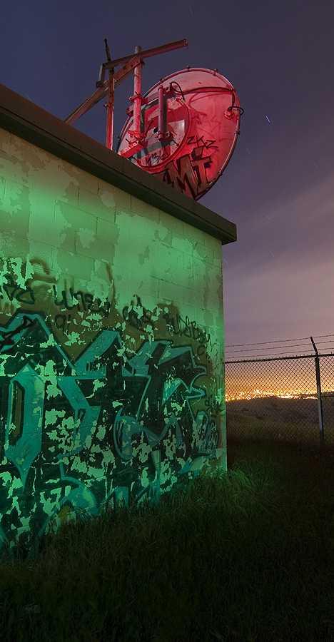 abandoned microwave relay station San Jose