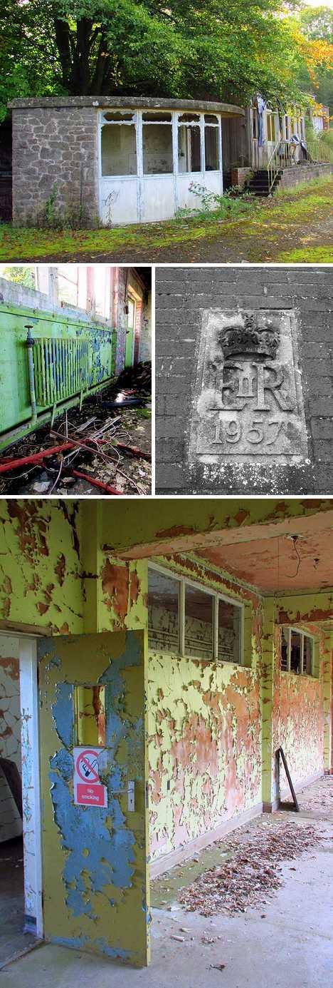 abandoned radio station Bristol UK
