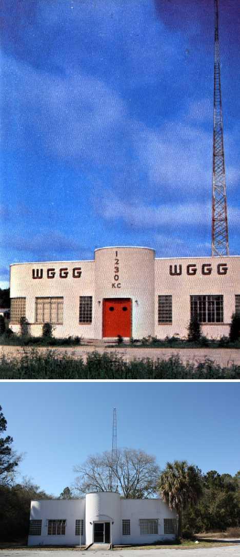 abandoned radio station WGGG 1230 AM Gainsville FL