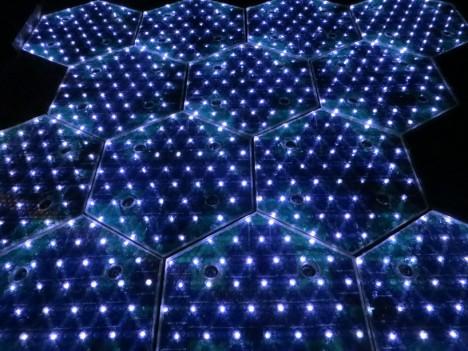 solar roadway led lights