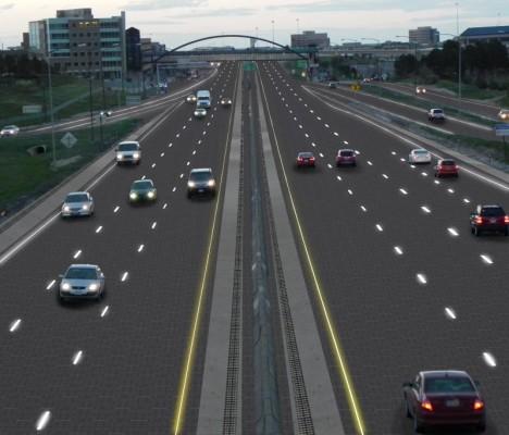 Street Smart Solar Roadway Lights Up Amp Feeds Power Grid