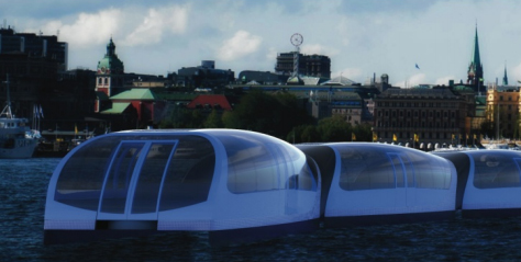 water bus rendering