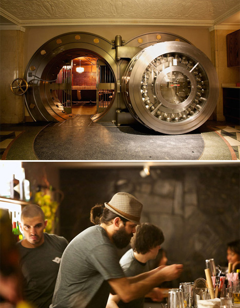 Converted Pubs Bank Vault