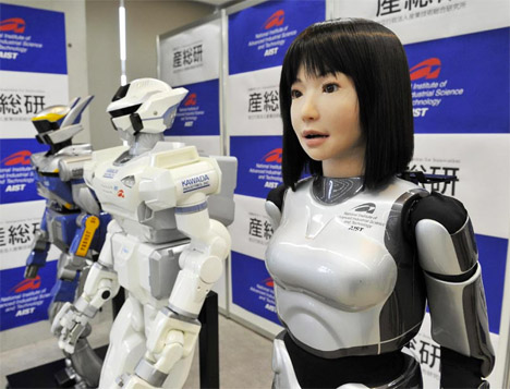 Human android girl himari seto and ai mizushima 8