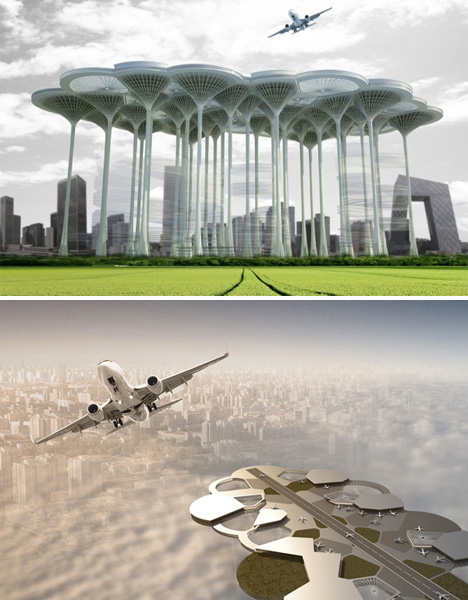 Future Airports Skyscraper