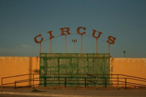 abandoned circus La Linea Spain Gibraltar