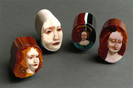 Loren Stump Sliced Glass Art 2