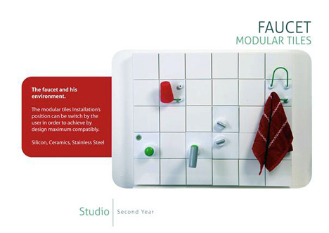 Modular Kitchen Faucet 1