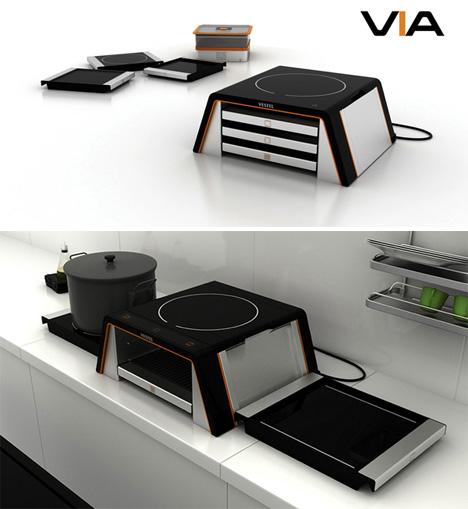 Modular Kitchen VIA