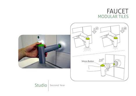 Modular Kitchens Faucet 2