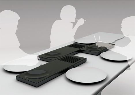 Modular Kitchens Table Cooking 1