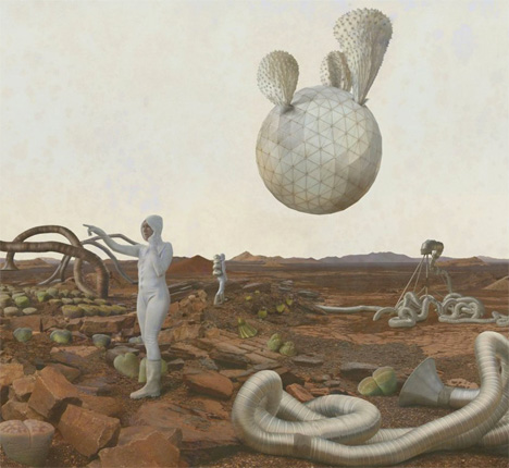 Space Architecture Adrift Mars 1