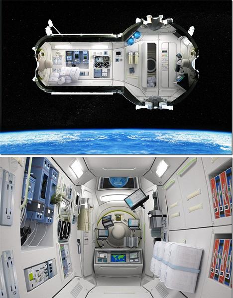 Space Architecture Hotel
