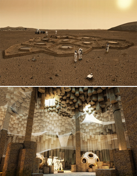 Space Architecture Mars Colonization