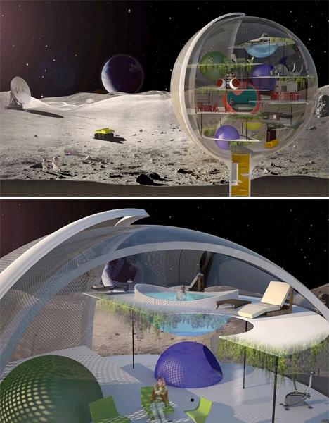 Out of this world 13 extraterrestrial architecture for Outer space urban design