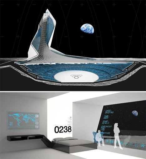 Space Architecture Stadium