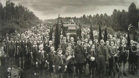 Strangest Cities Miyake Gas Masks 1
