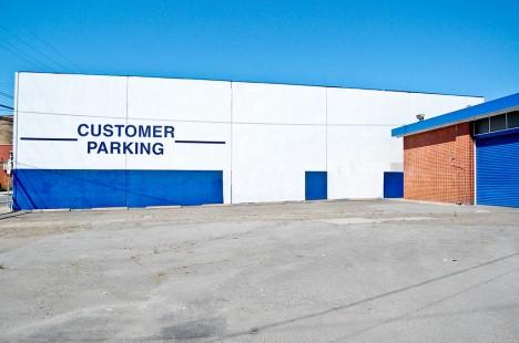 abandoned Ford dealership South San Francisco