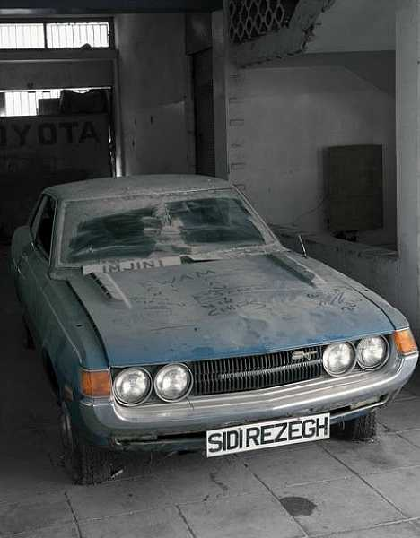 abandoned Toyota dealership Cyprus
