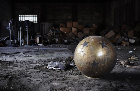 abandoned circus Italy