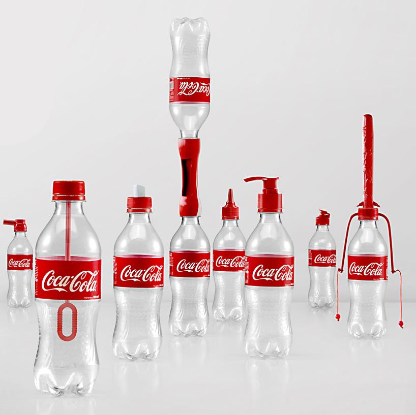 coke bottle cap reuse