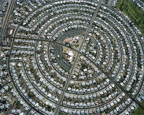 cristoph gielen aerial suburban photographs