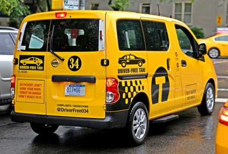 driver free taxi cab
