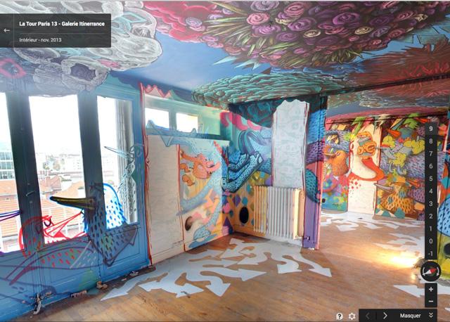 google street art view