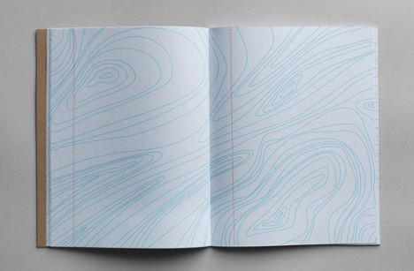 inspiration pad geographic contours