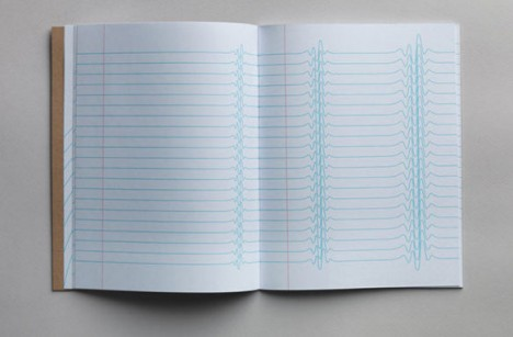 inspiration pad wavy blue