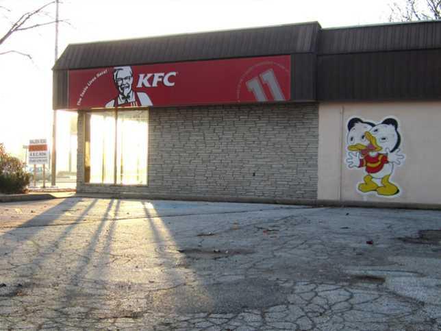abandoned KFC