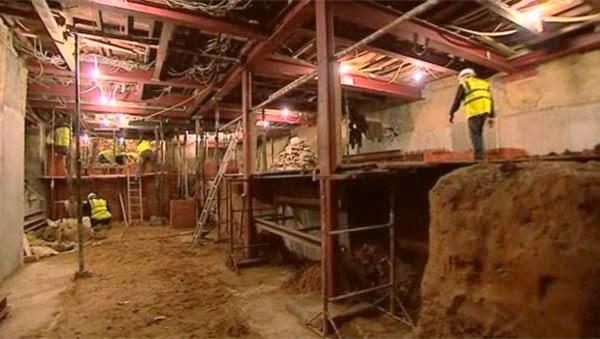 london basement cave making