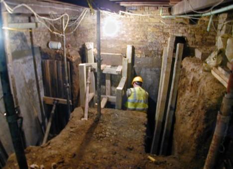 london underground mansion excavation