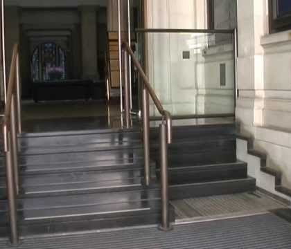 Retractable Stairs Open To Reveal Secret Urban Wheelchair