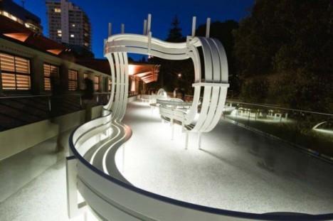 social bench installation art