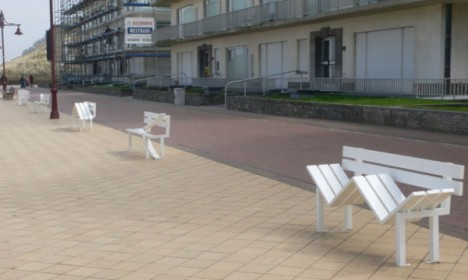 social bench street series