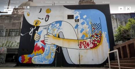 street art google view