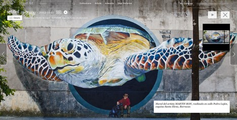 street art panoramic