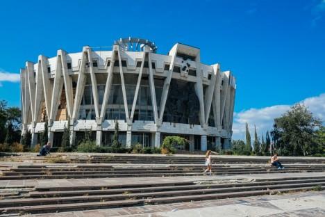 abandoned circus Chisenau Moldova