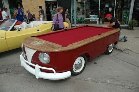 volkswagen pool table