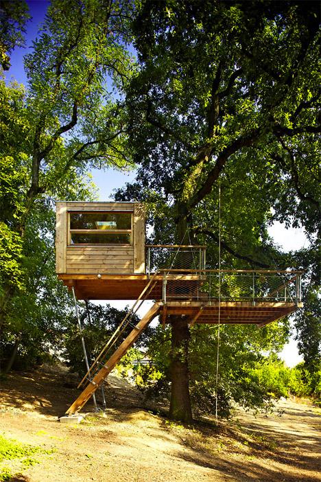 Baumraum Prague Treehouse 1
